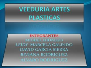 VEEDURIA ARTES PLASTICAS