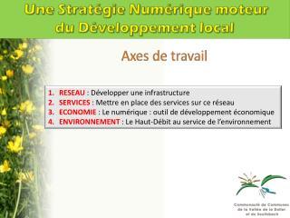 Une Stratégie Numérique moteur du Développement local