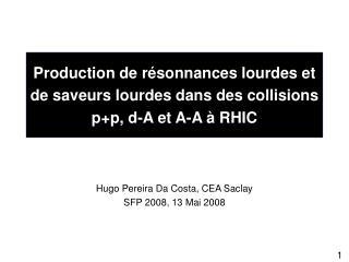 Production de résonnances lourdes et de saveurs lourdes dans des collisions p+p, d-A et A-A à RHIC