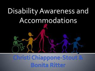 Christi Chiappone-Stout & Bonita Ritter