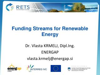 Funding Streams for Renewable Energy