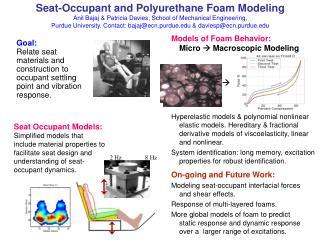 Models of Foam Behavior: Micro    Macroscopic Modeling                        