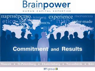 BPI-Brainpower Group