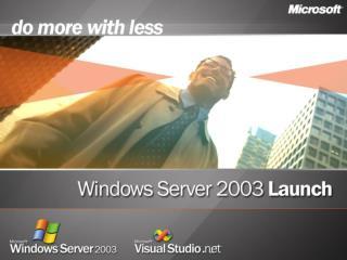 Mobile Application Development with Microsoft   Visual Studio   2003