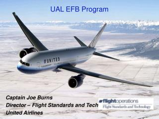 UAL EFB Program