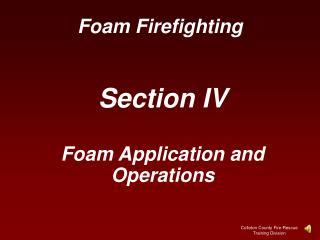 Foam Firefighting