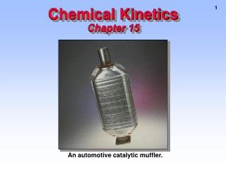 Chemical Kinetics Chapter 15