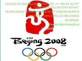 "COLEGIO DE BACHILLERES PLANTEL 14 ""MILPA ALTA"" ""FIDENCILO VILLANUEVA ROJAS"""