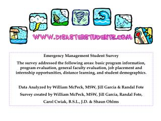 Emergency Management Student Survey