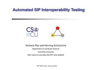 SIP2009-interop
