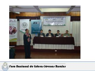 Foro Nacional de Líderes Jóvenes Rurales