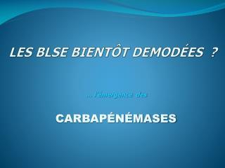 LES BLSE BIENT T DEMOD ES