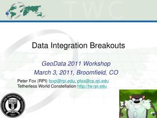 Data Integration Breakouts