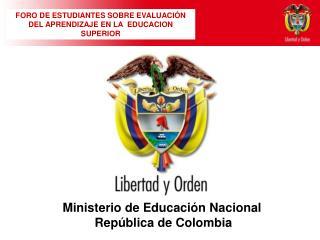 Ministerio de Educación Nacional