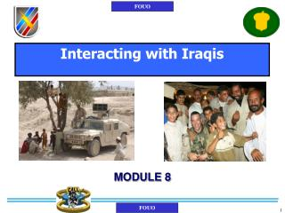 Interacting with Iraqis