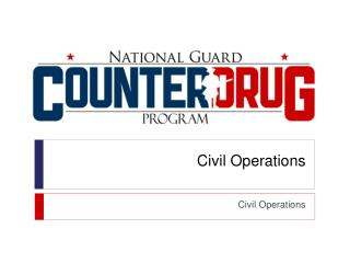 Civil Operations