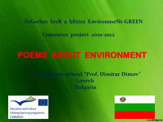 POEMS  ABOUT  ENVIRONMENT