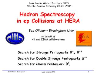Hadron Spectroscopy  in ep Collisions at HERA