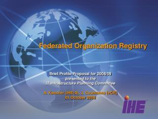 Federated Organization Registry