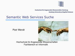 Semantic Web Services Suche