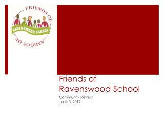 Friends of  Ravenswood School