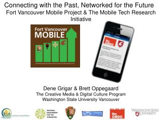 Connecting with the Past, Networked for the Future �
