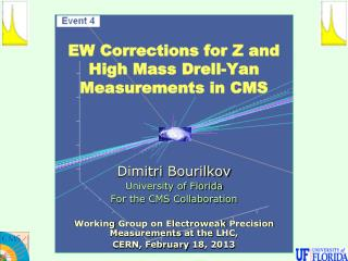 EW Corrections  for Z and High Mass Drell-Yan Measurements in CMS
