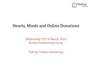 Hearts, Minds and Online Donations