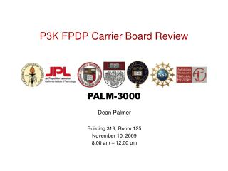 P3K FPDP Carrier Board Review