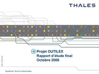 Projet OUTILEX Rapport d  tude final Octobre 2006