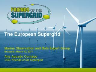 The European Supergrid