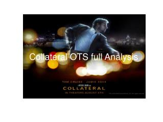 Collateral OTS full Analysis
