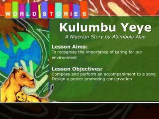 Kulumbu Yeye A Nigerian Story by  Abimbola Alao