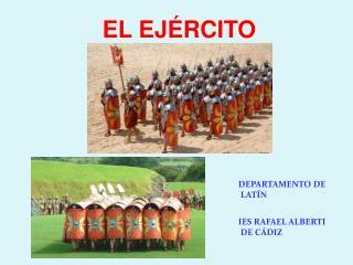 DEPARTAMENTO DE LATÍN                             IES RAFAEL ALBERTI DE CÁDIZ