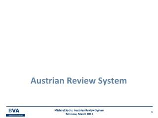 Austrian Review System