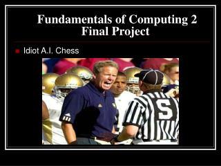 Fundamentals of Computing 2 Final Project