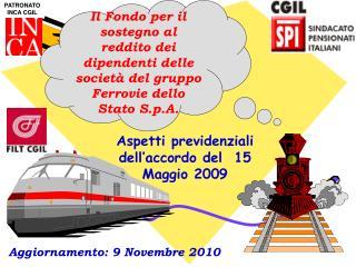 Aggiornamento: 9 Novembre 2010