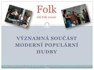 Folk čili folk music