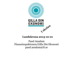 Landskrona  2013-10-01