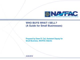 WHO BUYS WHAT I SELL?   (A Guide for Small Businesses)