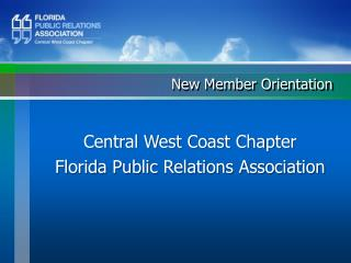Central West Coast Chapter Florida Public Relations Association