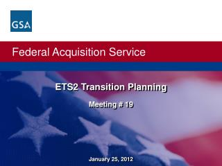 ETS2 Transition Planning Meeting # 19