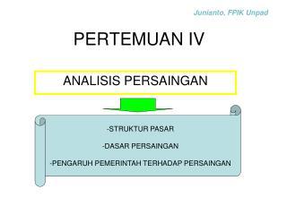 PERTEMUAN IV