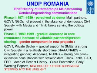 UNDP ROMANIA
