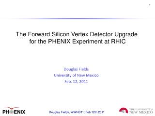 The Forward Silicon Vertex Detector Upgrade  for the PHENIX Experiment at RHIC