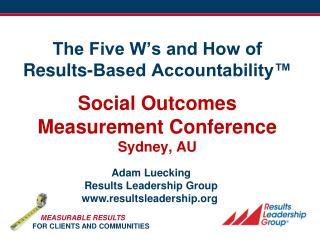 Adam Luecking Results Leadership Group resultsleadership