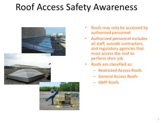 Roof Access Safety Awareness