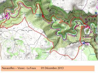 Navacelles – Vissec - La Foux01 Décembre 2013