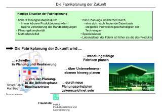 Die Fabrikplanung der Zukunft