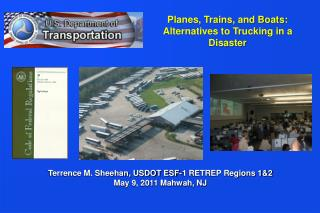 Planes, Trains, and Boats: Alternatives to Trucking in a Disaster